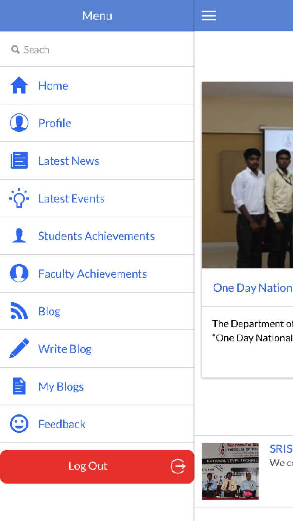 NSIT Mobile Application